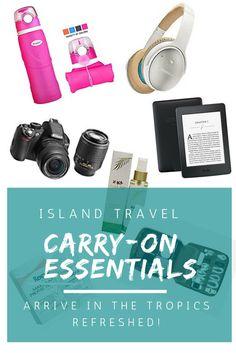 Island Travel Carry-On Essentials