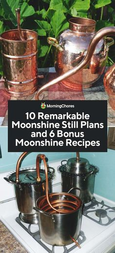 Oldtimers were creative in the ways they mademoon their own moonshine still plans. We share their innovation here, plus a few flavored moonshine recipes. Flavored Moonshine Recipes, Homemade Moonshine, Moonshine Mash Recipe, Moonshine Still Plans, How To Make Moonshine, Making Moonshine, Copper Moonshine Still, Homemade Alcohol, Homemade Liquor