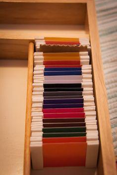 imprimibles caja de colores 2  http://www.montessorialbum.com/montessori/images/d/d3/Color_Box_2.pdf