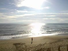 """Photo submitted by Laura G.- """"Good Morning OBX, and random guy that I didn't see when I shot the pic!"""""""
