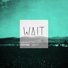 WAIT   Art Print by K is for Black