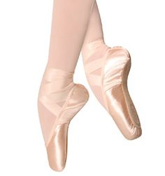 Suffolk Solo pointe shoes. Not my favorite but they're okay. This sight is good for nice cheap dance supplies.