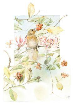 *Blissful Robin ~ Marjolein Bastin!