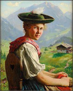 Femmes à chapeau par les grands peintres (268)