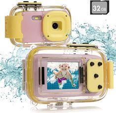 Toy Camera, Dslr Cameras, Camera Hacks, Kids Videos, Age 3, Camcorder, Sd Card, Digital Camera, Underwater