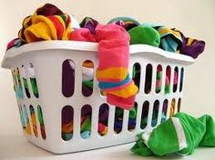 The song Dirty Laundry by Don Henley would make a great intro to a lesson on laundry and related topics. FACS rocks!