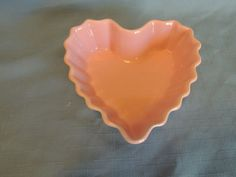 I found three of thee for $1 total at Goodwill.  CHANTAL Heart-Shaped Bowl-1 1/4 Cup Capacity #93-HQP13-Pink w/Scalloped Edge