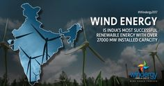 Change is the need of the hour. Wind energy, a bountiful sustainable source of energy available all over India, is here to revolutionise our power industry. #Windergy2017 #Wind4All #RenewableEnergy #WindPowerForever #HarvestAir #DestinationWind