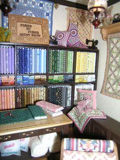 Cynthia Howe quilt shop interior