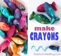 Make your Own Crayons - Kids Activities Blog