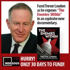 Fund The Movie: The Enemies Within. Communists, Socialists and Progressives in the U.S. Congress.