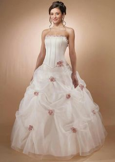 pink wedding dress tea length If you want to feel on your big day a juvenile, you should look into the possibility of pink & pink wedding d. Pink Wedding Gowns, Designer Wedding Dresses, Bridal Dresses, Cinderella Wedding, Bridesmaid Dresses, Prom Dresses, Dresses 2014, Gown Wedding, Lace Wedding