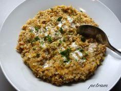 Vařím bez lepku, mléka a vajec - Obilniny a pseudoobilniny - Pohanka - Pohanka s chutí svíčkové