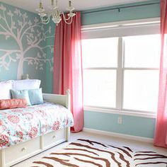 Kids Blue Paint And Girls Room Design, Pictures, Remodel, Decor and Ideas - page 5