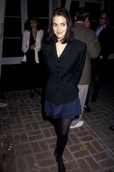 Winona Ryder Style, Winona Ryder 90s, Johnny And Winona, Johnny Depp, Young Fashion, 80s Fashion, Style Année 90, Winona Forever, Nastassja Kinski