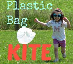 This Simple Home: Plastic Bag Kites