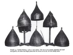 Ottoman helmets. Armours, Ottoman Empire, Medieval Fantasy, Eastern Europe, Helmets, Persian, Weapons, Indian, Traditional