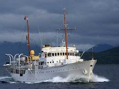1 of only 3 remaining Royal Yachts in Europe,  HNoMY Norge  is the Royal Yacht of the King of Norway. The ship's name 'Norge' is Norwegian for Norway.