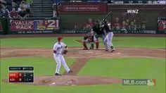 the other paper: Marcell Ozuna goes down hard after missing curveba...