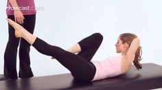 How to Do the Criss-Cross   Pilates Workout