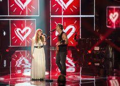 Rahel Buchhold stand in der Final-Show der 2. Staffel von «The Voice of Switzerland» zusammen mit Samu Haber von Sunrise Avenue auf der Bühne. Sie performten...