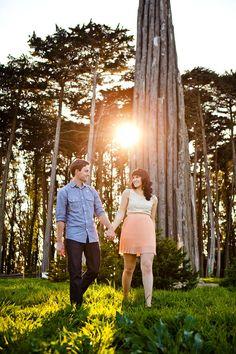 Pretty Presidio engagement photos. San Francisco, Ca. Photography by thegoodness.com