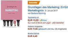 """Ich freue mich - Prädikat """"BESTSELLER"""": Grundlagen des Marketing (3. Aufl.)!!"""