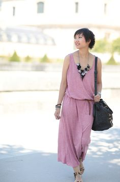 American Vintage Dress by @Tokyobanhbao on her blog