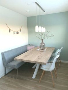 Dining room interior view at bij Binnenlook Eetk - Luxury Dining Room, Dining Room Design, Room Interior, Interior Design, Stylish Interior, Home Decor Kitchen, Home Accents, Home And Living, Home Furniture