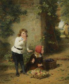 George Bernard O´Neill (1828 – 1917) – Pintor Irlandês_7