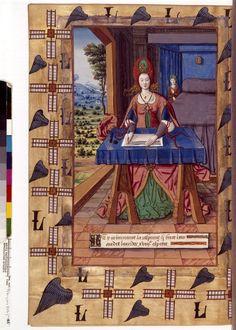 'Les Espitres de Ovide, translatées de latin en français …', BNF, Français 873, 125v. 1501-1600