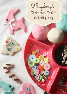 """Hacerles su propia fiesta de decoración de """"galletas"""" navideñas.   23 Formas fáciles y baratas de mantener entretenidos a los niños esta Navidad"""