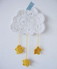 adorables nuages étoilés !