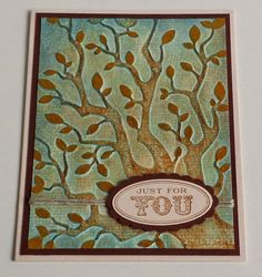 Herbst, Embossing-Folder,  Distress Stains, Stampin ' Up Ovale Sprüche