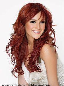 Red Hair Color  @Sarah Chintomby Chintomby Calkins (i dig)