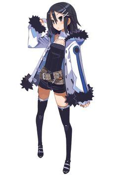 Asagi - Characters & Art - Disgaea D2: A Brighter Darkness