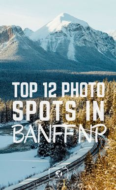 Capture postcard worthy photos at these easy to get to photography spots in Banff National Park National Park Camping, Banff National Park, Jasper National Park, Montreal, Banff Photography, Travel Photography, Night Photography, Landscape Photography, Vancouver