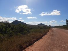 Caminho para Águas Claras, Chapada Diamantina -BA
