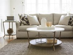 Universal Furniture | Playlist | Round Cocktail Table