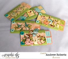 The pages of Andrew's Once Upon a Springtime album #graphic45