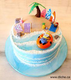 Minion pool party !!