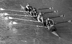 """Teamwork on the Thames"". Stroke (circled) of the Walton Rowing Club Eight. I have silver and bronze medals from the UK National Rowing Championships."