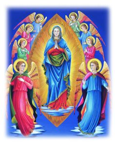 Novena to Our Lady of the Assumption (Feast: August Prayers To Mary, Novena Prayers, Catholic Prayers, Catholic Art, Catholic Saints, Religious Art, Jesus Mother, Blessed Mother Mary, Blessed Virgin Mary