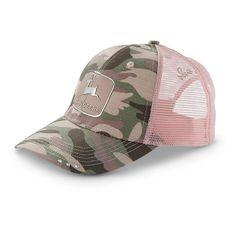 Women's John Deere #Camo Hat