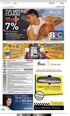 anuncio Bandistico EL NACIONAL