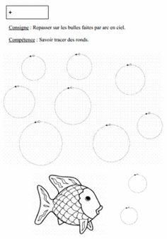 tracer des ronds en petite section
