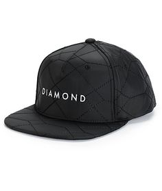 c27a430d530 Stone Cut Quilted Snapback Hat