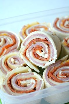 Back To School Lunch Pizza Pinwheels
