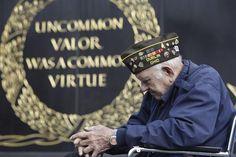 Uncommon valor was a common virtue.
