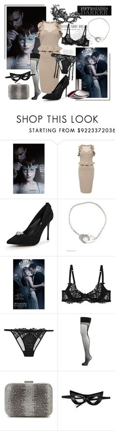 """""""Iconic Look: 50 Shades Darker"""" by molnijax ❤ liked on Polyvore featuring Calvin Klein"""
